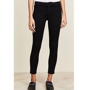 J Brand Skinny Black Ankle Pants